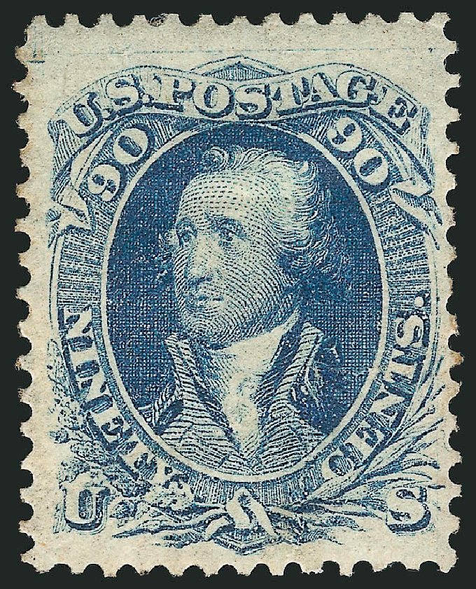 Price of US Stamp Scott #72: 1861 90c Washington. Robert Siegel Auction Galleries, Apr 2015, Sale 1096, Lot 141