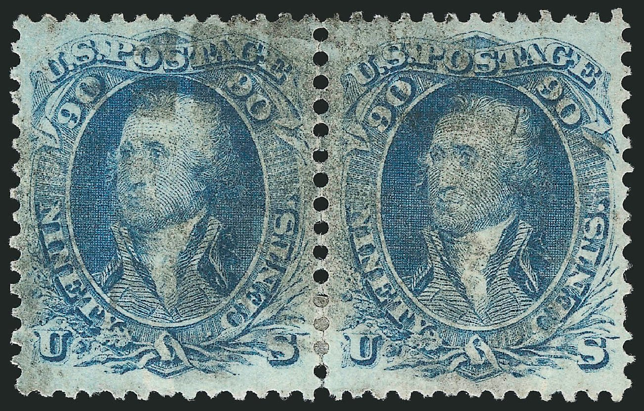Cost of US Stamps Scott #72 - 90c 1861 Washington. Robert Siegel Auction Galleries, Apr 2015, Sale 1096, Lot 143