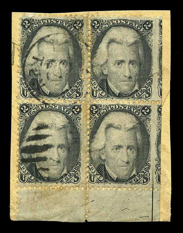 Price of US Stamps Scott Cat. # 73 - 1861 2c Jackson. Harmer-Schau Auction Galleries, Aug 2015, Sale 106, Lot 1408