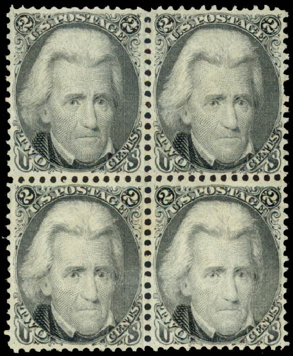 US Stamp Prices Scott Catalog 73: 2c 1861 Jackson. Daniel Kelleher Auctions, May 2015, Sale 669, Lot 2518