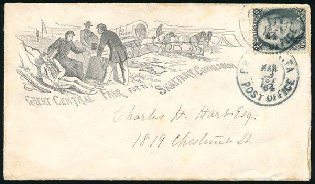 Price of US Stamps Scott # 73 - 2c 1861 Jackson. Schuyler J. Rumsey Philatelic Auctions, Apr 2015, Sale 60, Lot 1868