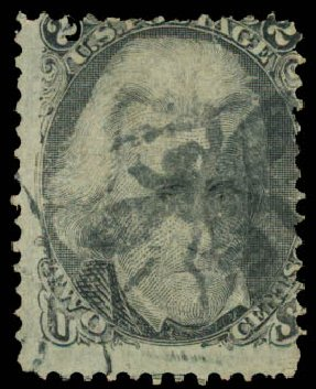 Price of US Stamps Scott Cat. 73 - 2c 1861 Jackson. Daniel Kelleher Auctions, May 2015, Sale 669, Lot 2519