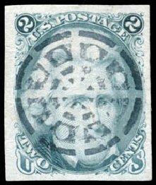 Price of US Stamp Scott Cat. #73 - 1861 2c Jackson. Schuyler J. Rumsey Philatelic Auctions, Apr 2015, Sale 60, Lot 1809