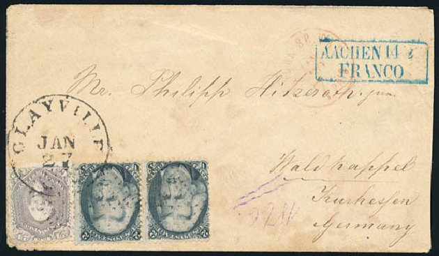 Values of US Stamps Scott Catalogue #73: 2c 1861 Jackson. Schuyler J. Rumsey Philatelic Auctions, Apr 2015, Sale 60, Lot 1861