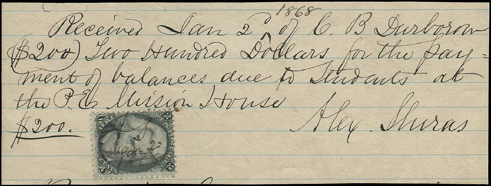 Price of US Stamps Scott Cat. 73 - 1861 2c Jackson. Regency-Superior, Aug 2015, Sale 112, Lot 1614