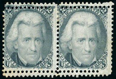 Values of US Stamps Scott Catalogue # 73: 1861 2c Jackson. Schuyler J. Rumsey Philatelic Auctions, Apr 2015, Sale 60, Lot 1824