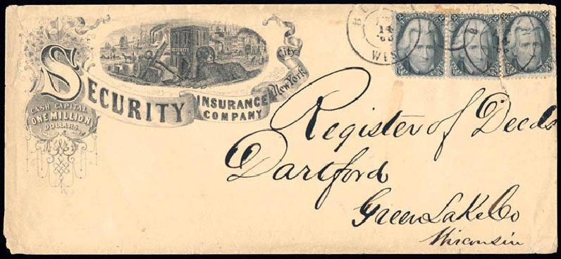 Prices of US Stamps Scott Catalog 73: 2c 1861 Jackson. Schuyler J. Rumsey Philatelic Auctions, Apr 2015, Sale 60, Lot 1834