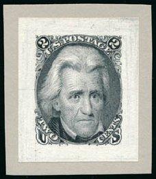 US Stamps Price Scott Cat. # 73 - 1861 2c Jackson. Schuyler J. Rumsey Philatelic Auctions, Apr 2015, Sale 60, Lot 1812
