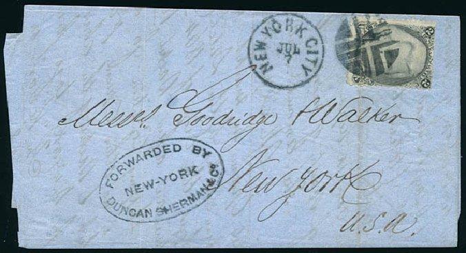 Costs of US Stamp Scott Catalog 73: 1861 2c Jackson. Schuyler J. Rumsey Philatelic Auctions, Apr 2015, Sale 60, Lot 1863