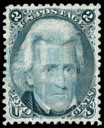 Prices of US Stamp Scott Catalog 73 - 2c 1861 Jackson. Schuyler J. Rumsey Philatelic Auctions, Apr 2015, Sale 60, Lot 2043