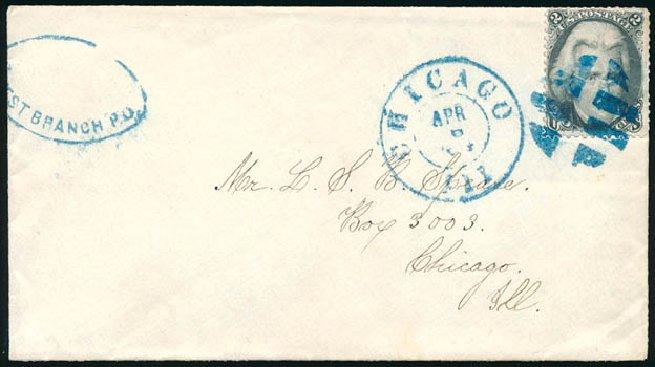 US Stamp Value Scott Catalog #73 - 2c 1861 Jackson. Schuyler J. Rumsey Philatelic Auctions, Apr 2015, Sale 60, Lot 1846
