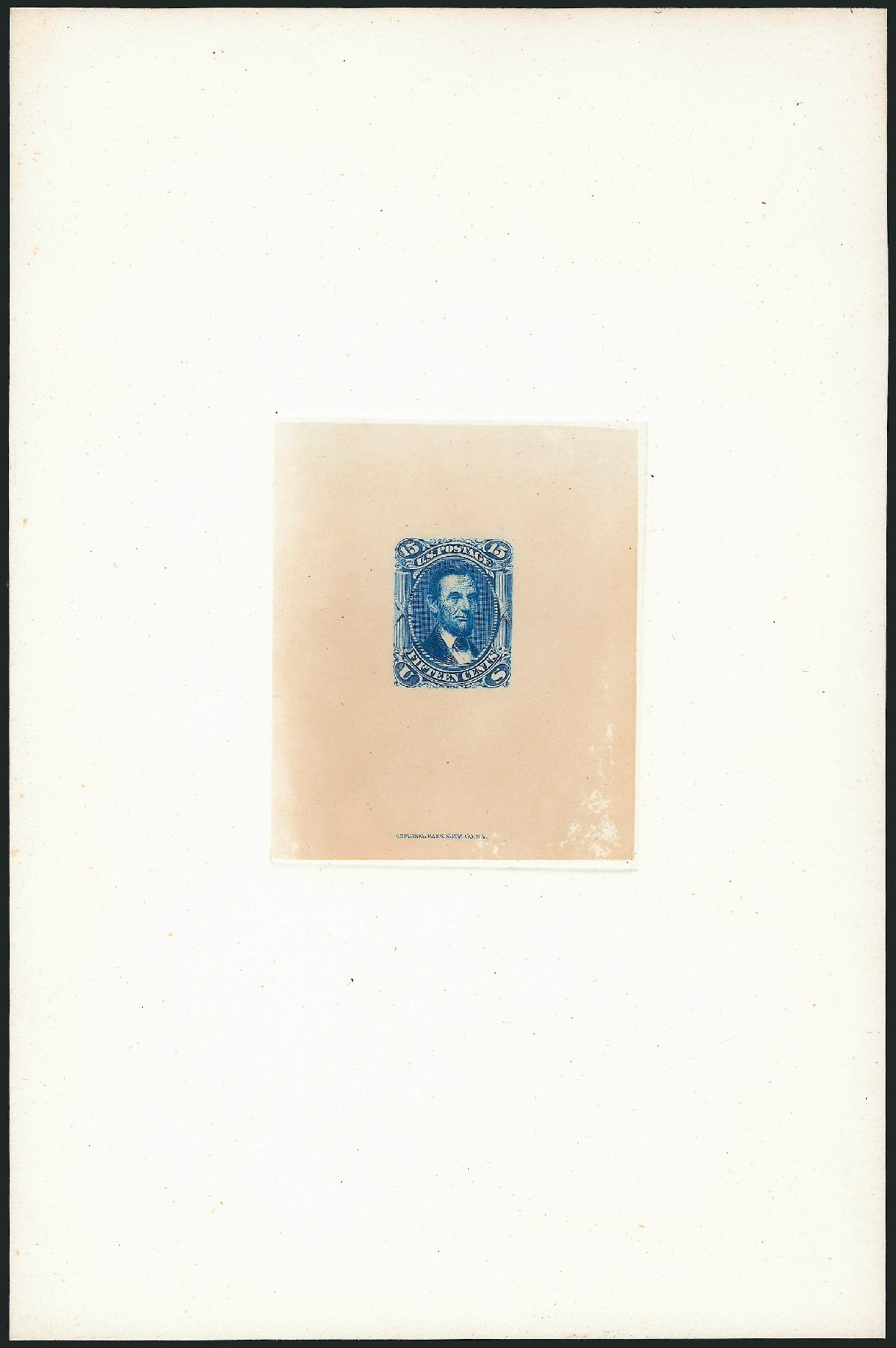 Costs of US Stamps Scott Catalogue #77 - 1866 15c Lincoln. Robert Siegel Auction Galleries, Dec 2014, Sale 1090, Lot 1010