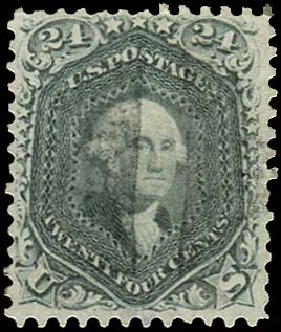Prices of US Stamp Scott Cat. # 78 - 1862 24c Washington. Regency-Superior, Aug 2015, Sale 112, Lot 181