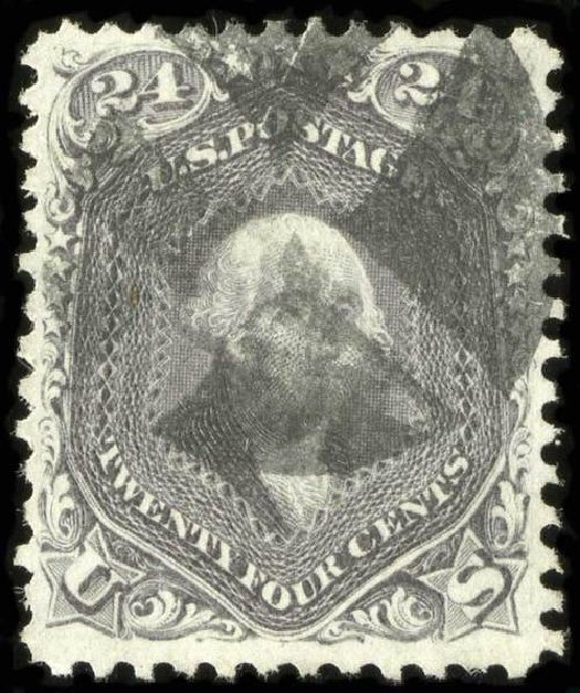 Prices of US Stamps Scott Cat. # 78: 1862 24c Washington. Spink Shreves Galleries, Jul 2015, Sale 151, Lot 75