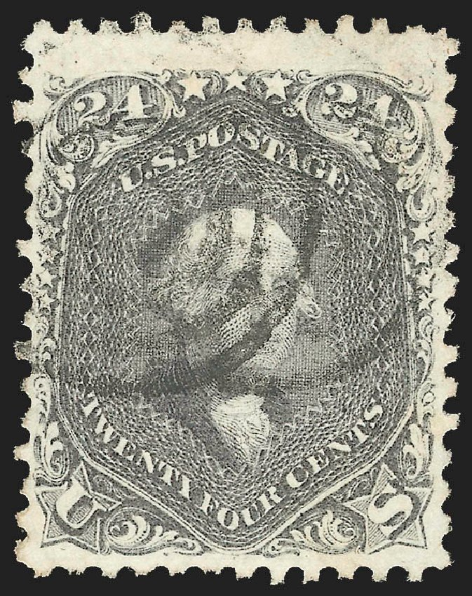 Values of US Stamp Scott Catalogue 78: 24c 1862 Washington. Robert Siegel Auction Galleries, Jul 2015, Sale 1107, Lot 136