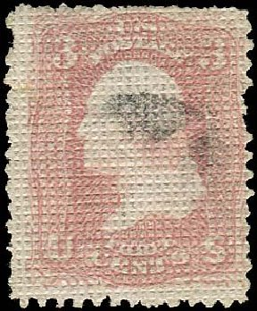 Costs of US Stamps Scott Catalog # 79: 3c 1867 Washington Grill. Regency-Superior, Nov 2014, Sale 108, Lot 197
