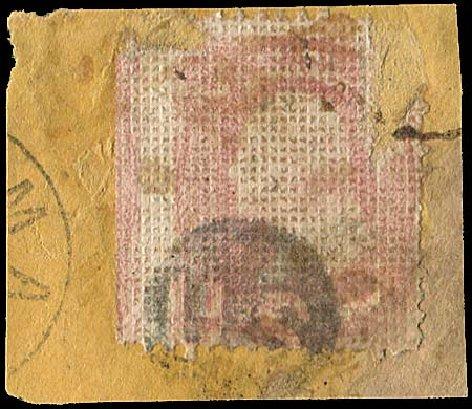 US Stamp Prices Scott Cat. 79 - 1867 3c Washington Grill. Regency-Superior, Jan 2015, Sale 109, Lot 678