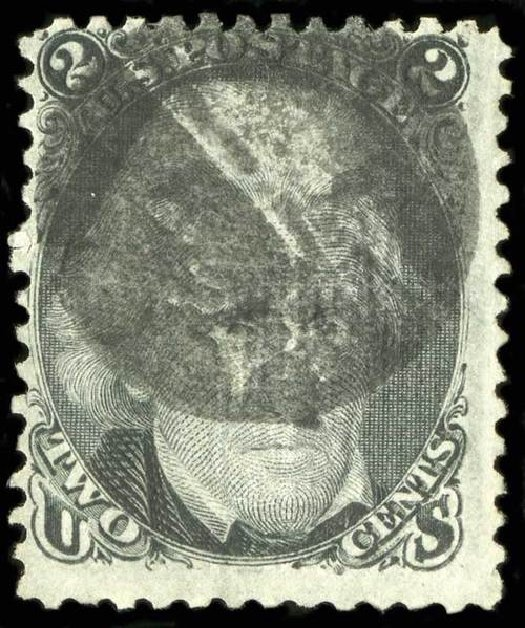 Costs of US Stamps Scott 84 - 2c 1867 Jackson Grill. Spink Shreves Galleries, Jul 2015, Sale 151, Lot 78