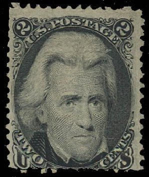 Values of US Stamp Scott 84 - 2c 1867 Jackson Grill. Daniel Kelleher Auctions, May 2015, Sale 669, Lot 2530