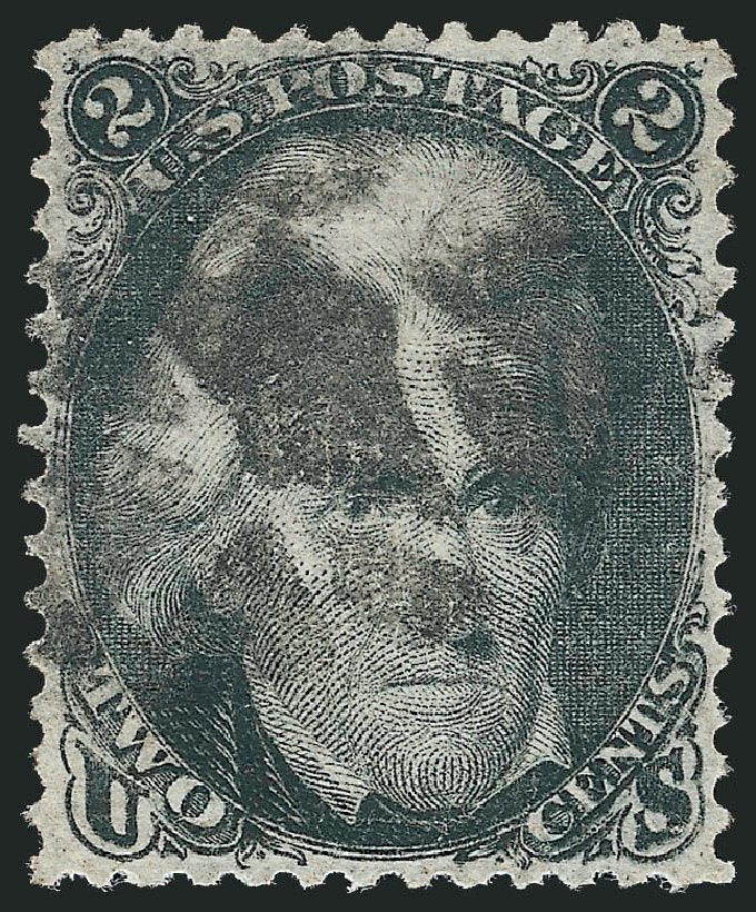 US Stamp Price Scott 84: 2c 1867 Jackson Grill. Robert Siegel Auction Galleries, Nov 2014, Sale 1084, Lot 3241