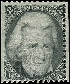 Prices of US Stamps Scott Cat. #85B - 1868 2c Jackson Grill. Regency-Superior, Nov 2014, Sale 108, Lot 208