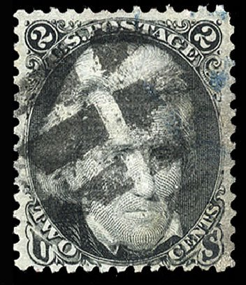 Prices of US Stamp Scott # 85B - 2c 1868 Jackson Grill. Cherrystone Auctions, May 2015, Sale 201505, Lot 10