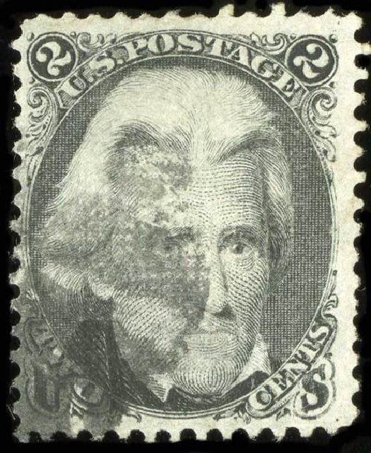Cost of US Stamps Scott Catalogue # 85B - 2c 1868 Jackson Grill. Spink Shreves Galleries, Jul 2015, Sale 151, Lot 81