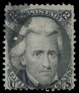 Value of US Stamp Scott Cat. #85B - 2c 1868 Jackson Grill. Daniel Kelleher Auctions, May 2015, Sale 669, Lot 2532