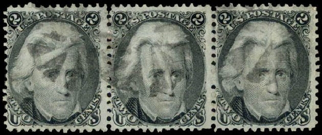 Prices of US Stamp Scott Catalog # 87: 2c 1868 Jackson Grill. Daniel Kelleher Auctions, May 2015, Sale 669, Lot 2538