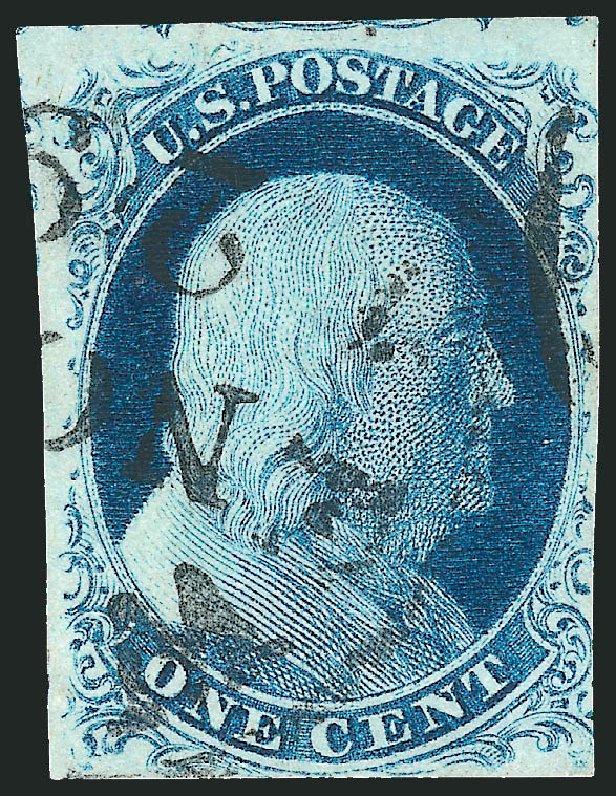 Us Stamps Values Scott Cat 8a 1c 1851 Franklin