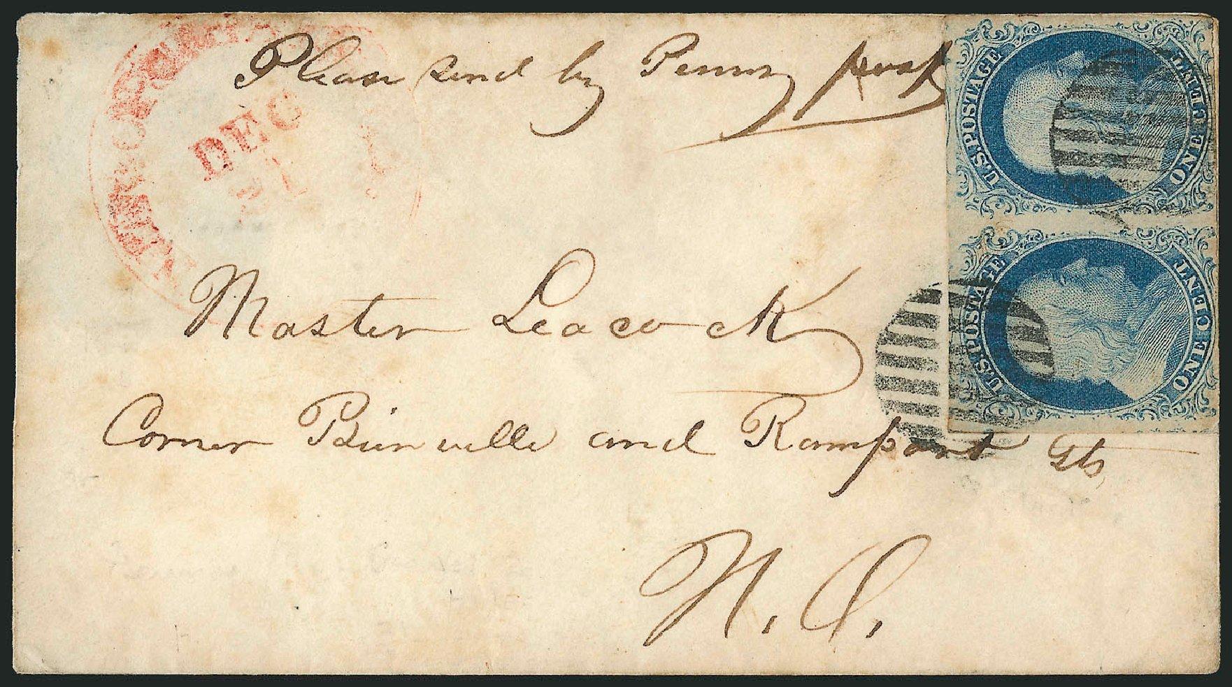 US Stamps Values Scott # 9: 1852 1c Franklin. Robert Siegel Auction Galleries, Jun 2015, Sale 1105, Lot 2538