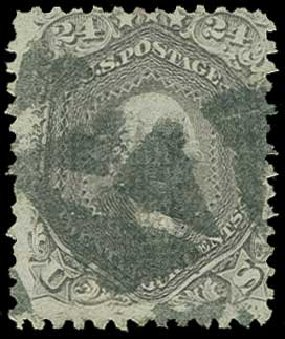 US Stamps Prices Scott Catalogue # 99: 24c 1869 Washington Grill. H.R. Harmer, Jun 2015, Sale 3007, Lot 3178