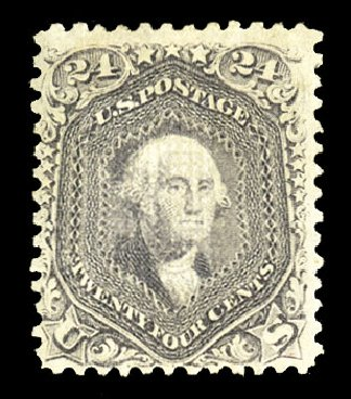 Values of US Stamp Scott Catalogue #99: 24c 1869 Washington Grill. Cherrystone Auctions, Jul 2015, Sale 201507, Lot 2046