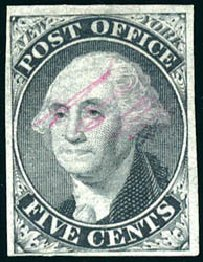 Costs of US Stamps Scott # 9X1: 1846 5c New York Postmasters Provisional. Schuyler J. Rumsey Philatelic Auctions, Apr 2015, Sale 60, Lot 1879