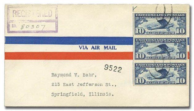 Cost Of US Stamp Scott Catalog C10