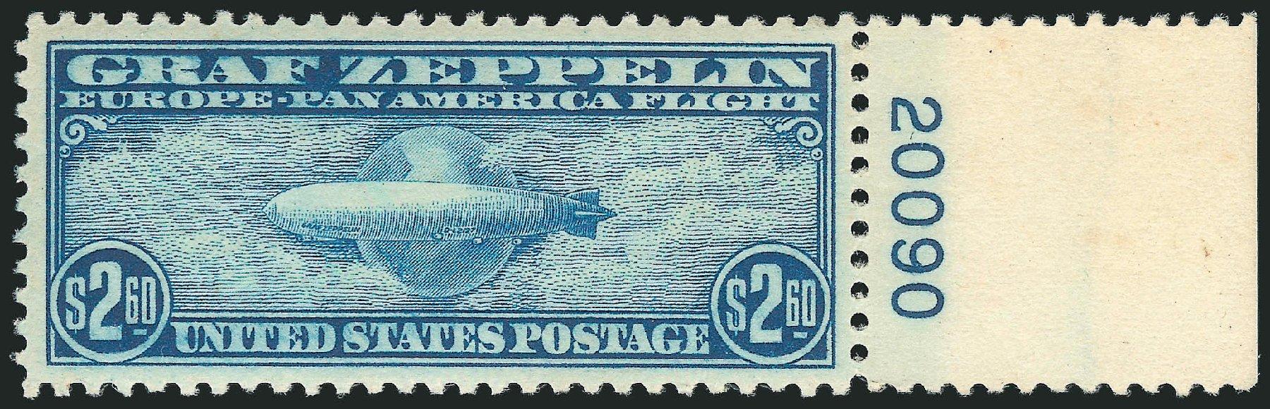 Price of US Stamp Scott Catalog # C15 - US$2.60 1930 Air Graf Zeppelin. Robert Siegel Auction Galleries, Feb 2015, Sale 1092, Lot 1416