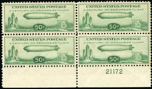 Price of US Stamp Scott Catalog C18: 50c 1933 Air Graf Zeppelin. Spink Shreves Galleries, Jul 2015, Sale 151, Lot 366