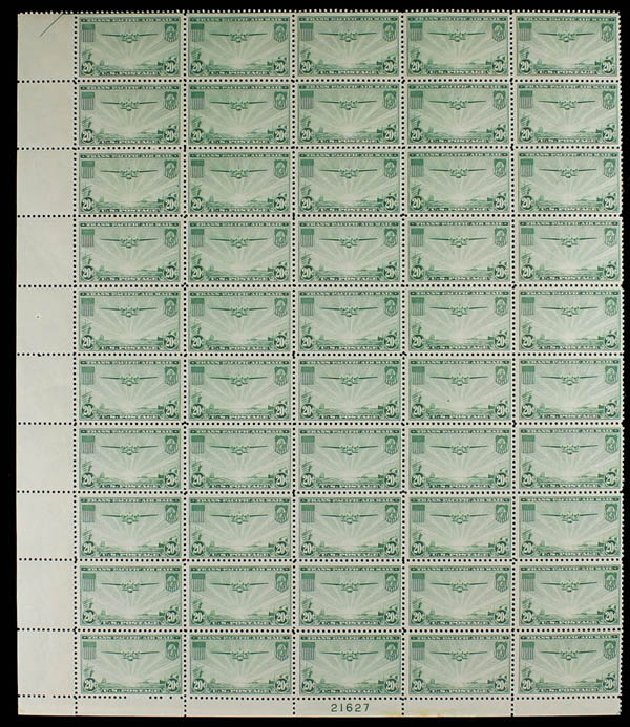 Value of US Stamp Scott Cat. #C21 - 20c 1937 Air China Clipper. Daniel Kelleher Auctions, Jun 2012, Sale 630, Lot 1977