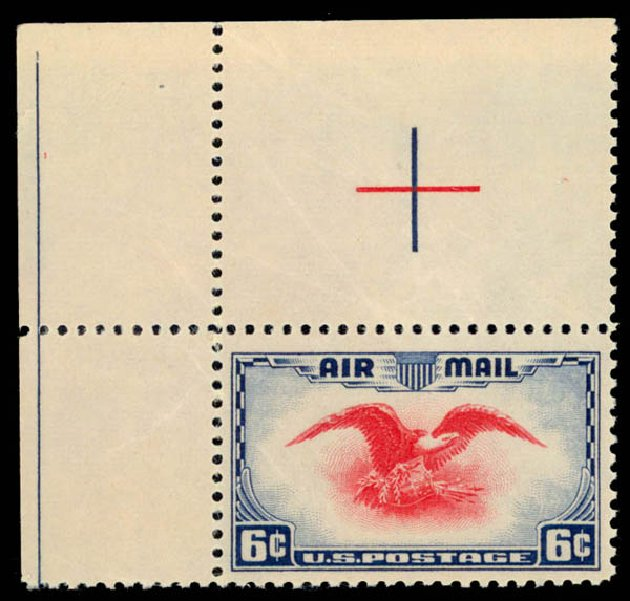US Stamps Prices Scott Catalogue # C23: 1938 6c Air Eagle. Daniel Kelleher Auctions, Oct 2014, Sale 660, Lot 2519