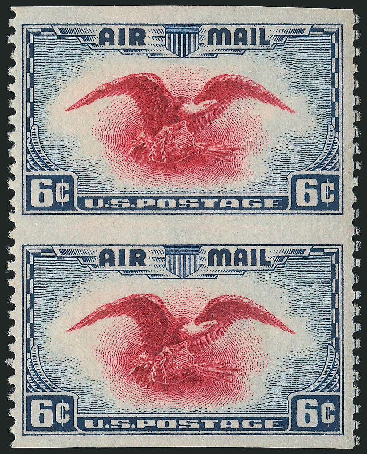 Price of US Stamp Scott #C23: 6c 1938 Air Eagle. Robert Siegel Auction Galleries, Dec 2014, Sale 1090, Lot 1619