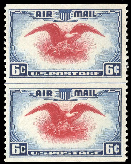 Cost of US Stamp Scott Catalog #C23 - 6c 1938 Air Eagle. Cherrystone Auctions, Sep 2014, Sale 201409, Lot 84
