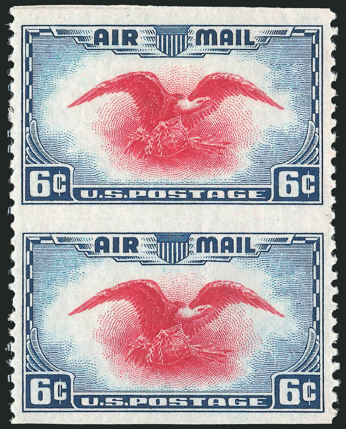 US Stamp Price Scott C23 - 1938 6c Air Eagle. Robert Siegel Auction Galleries, Oct 2014, Sale 1082, Lot 475