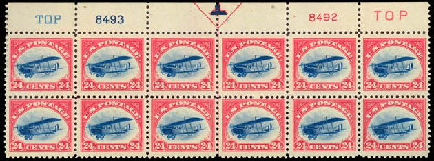 Price of US Stamps Scott C3: 24c 1918 Air Curtiss Jenny. Daniel Kelleher Auctions, Aug 2015, Sale 672, Lot 2869