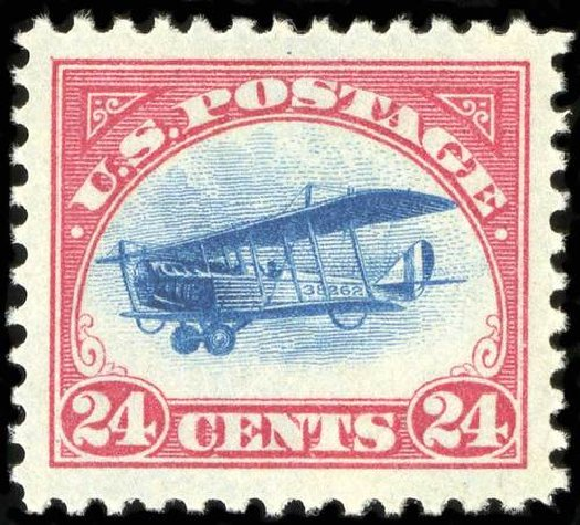 Prices of US Stamps Scott # C3: 1918 24c Air Curtiss Jenny. Spink Shreves Galleries, Jul 2015, Sale 151, Lot 355