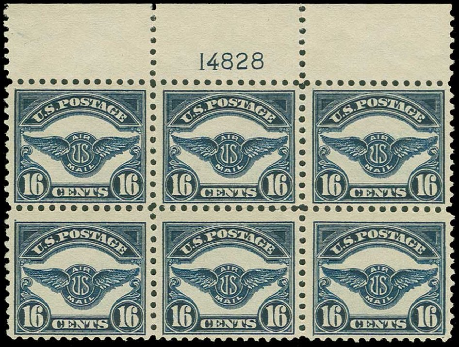 US Stamps Price Scott C5 - 16c 1923 Air Service Emblem. H.R. Harmer, Jun 2015, Sale 3007, Lot 3441