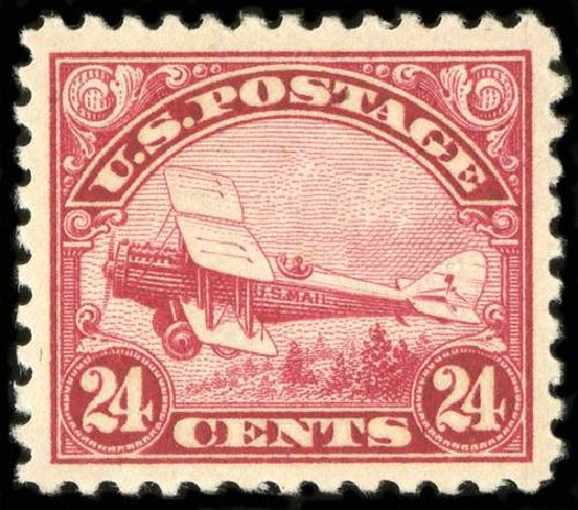 US Stamps Price Scott Cat. #C6: 1923 24c Air DeHavilland Biplane. Spink Shreves Galleries, Jul 2015, Sale 151, Lot 358