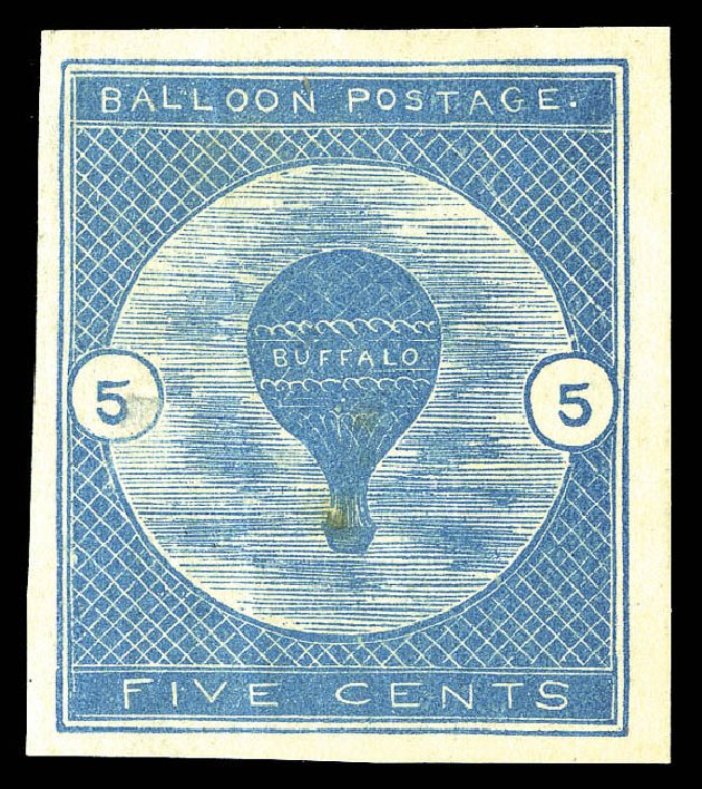 US Stamps Price Scott Catalog # CL1: 5c 1877 Air Buffalo Baloon. Matthew Bennett International, Sep 2012, Sale 346, Lot 903