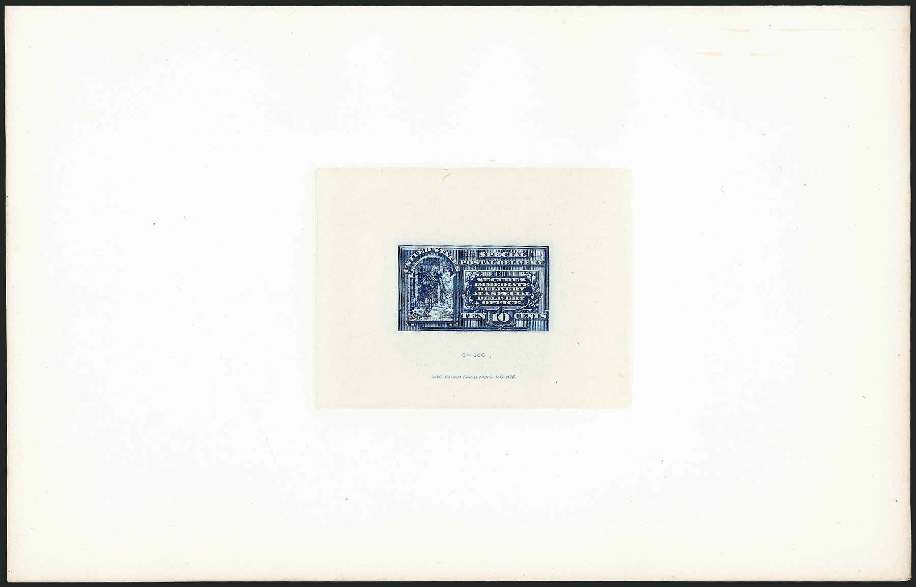 Costs of US Stamp Scott Catalog E1: 1885 10c Special Delivery. Robert Siegel Auction Galleries, Mar 2015, Sale 1094, Lot 1