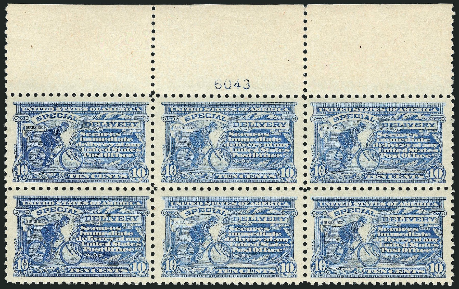 US Stamp Price Scott Cat. # E10 - 1916 10c Special Delivery. Robert Siegel Auction Galleries, Feb 2015, Sale 1092, Lot 1427