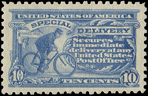 US Stamp Prices Scott Catalogue #E10: 1916 10c Special Delivery. Regency-Superior, Aug 2015, Sale 112, Lot 1068
